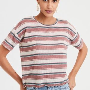 American Eagle Boxy Soft T Shirt